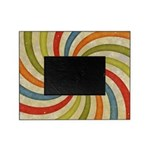 Psychedelic Retro Swirl Picture Frame