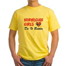 Norwegian Girls Better T-Shirt