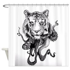Tigerpus Shower Curtain