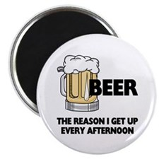 Beer Every Afternoon Magnet