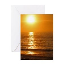 Carolina Sunrise2 Greeting Cards