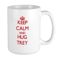 Keep Calm and HUG Trey Mugs