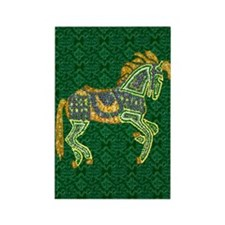 Jewel Art Horse Rectangle Magnet (100 pack)