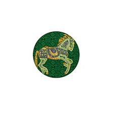 Jewel Art Horse Mini Button (10 pack)
