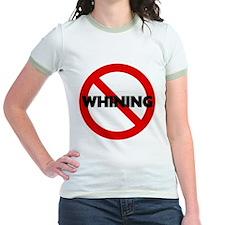 No Whining Jr. Ringer T-Shirt