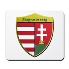 Hungary Metallic Shield Mousepad