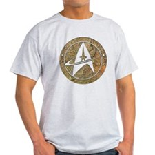 Hammered Copper Star Trek T-Shirt