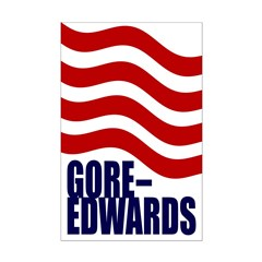 Gore-Edwards 08 11x17 Poster Print