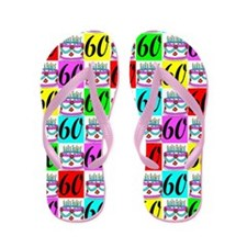 STYLISH 60TH Flip Flops