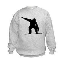 Snowboarder Silhouette Sweatshirt