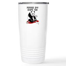 Cute Cartoon panda Travel Mug
