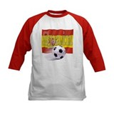 Soccer Flag Spain Tee