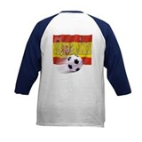 Soccer Flag Spain (B) Tee