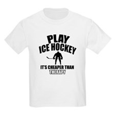 Ice hockey is my therapy T-Shirt