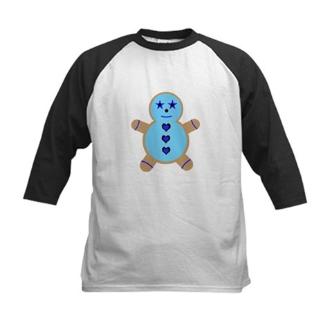 Blue Ginger Bread Cookie Tee