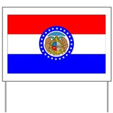 Flag of Missouri Yard Sign
