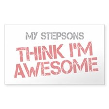 Stepsons Awesome Decal