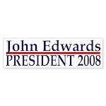 John Edwards 2008 bumper sticker