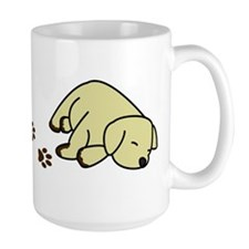 Muddy Yellow Lab Mug