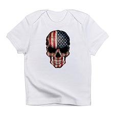 American Flag Skull Infant T-Shirt