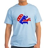GOP Elephant Humping Donkey T-Shirt