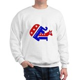 GOP Elephant Humping Donkey Sweatshirt