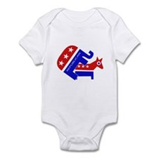 GOP Elephant Humping Donkey Infant Bodysuit