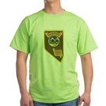 Pershing County Sheriff Green T-Shirt