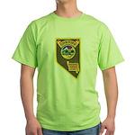 Pershing County Sheriff Green T-Shirt