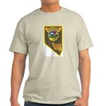Pershing County Sheriff Light T-Shirt