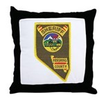 Pershing County Sheriff Throw Pillow