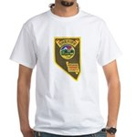 Pershing County Sheriff White T-Shirt