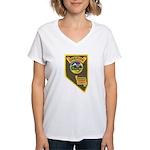 Pershing County Sheriff Women's V-Neck T-Shirt