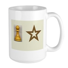 Pawn Star Left and Right handed Ceramic Mugs