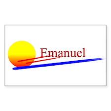 Emanuel Rectangle Decal