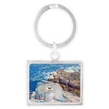 The South Ledges, Appledore by  Landscape Keychain