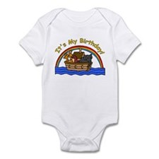 Noah's Ark Birthday Infant Bodysuit