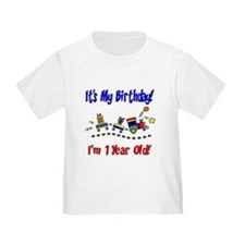 Train 1st Birthday T