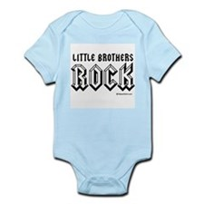 Little brothers rock / Baby Humor Infant Bodysuit