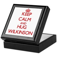 Keep calm and Hug Wilkinson Keepsake Box