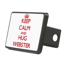 Keep calm and Hug Webster Hitch Cover