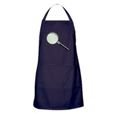 Magnifying Glass Apron (dark)