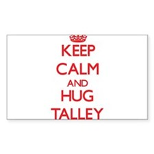 Keep calm and Hug Talley Decal