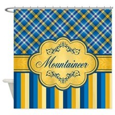 Tartan Mountaineer Shower Curtain