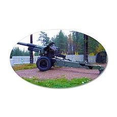 Gun at War memorial Wall Decal