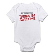 Babysitter Awesome Infant Bodysuit