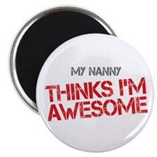 "Nanny Awesome 2.25"" Magnet (100 pack)"