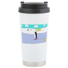 Ice Skating Penguin! Travel Mug