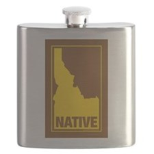 Idaho Native (Brn) - Flask
