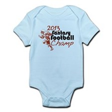 2013 Fantasy Football Champ Infant Bodysuit